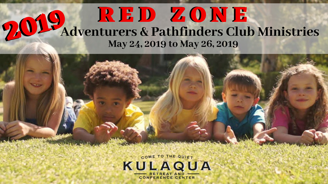 2019 Red Zone Pathfinder Kulaqua Retreat Conference Center