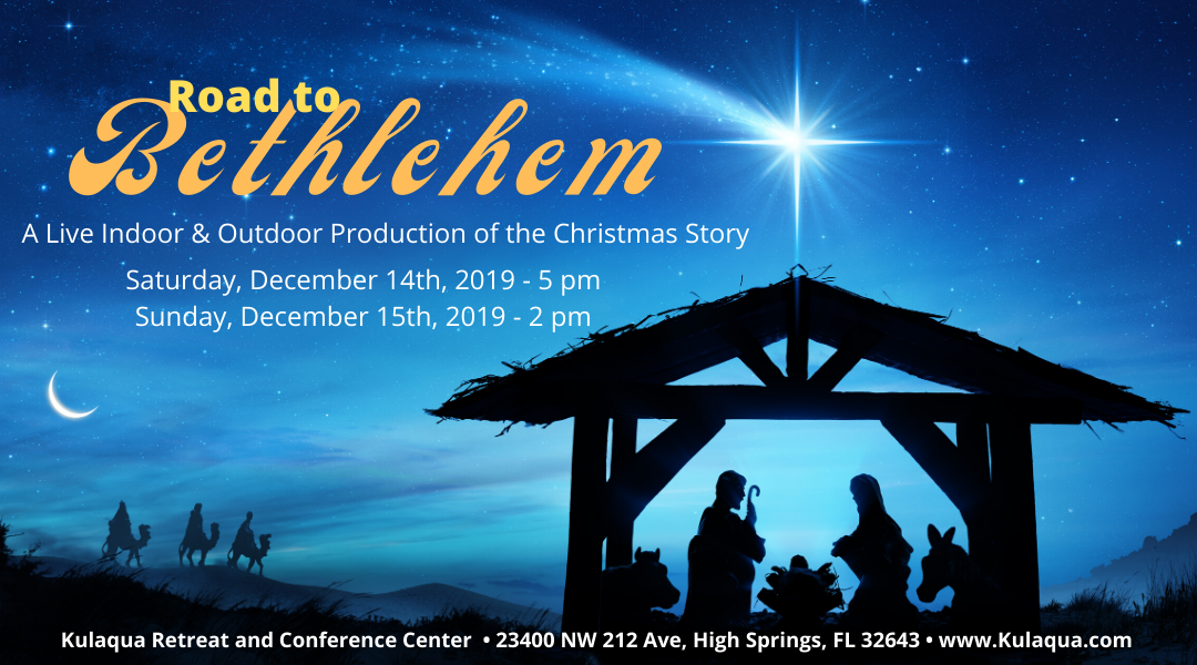 2019 Live Nativity at Kulaqua Retreat and Conference Center in High Springs Florida