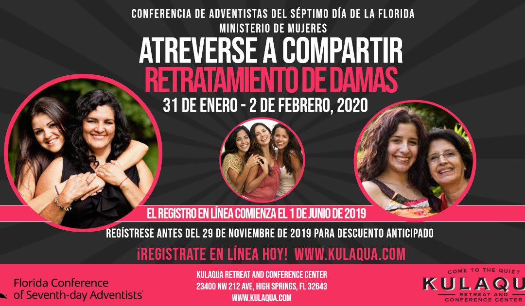 2020 Dare to Share Women's Retreat at Kulaqua Retreat and Conference Center Spanish Session