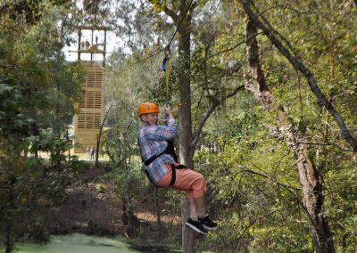 Tower of Faith Ziplining