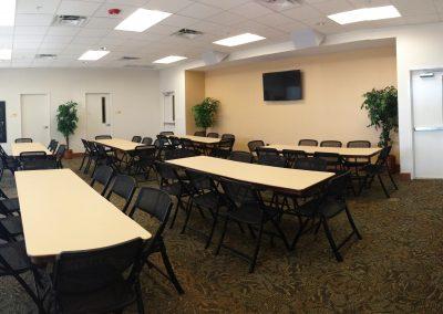 Woodland Lodge Seminar Room - Classroom Style
