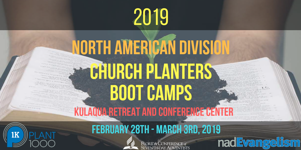 2019 Church Planters Boot Camp at Kulaqua Retreat and Conference Center
